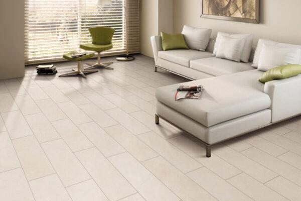 all white tiles