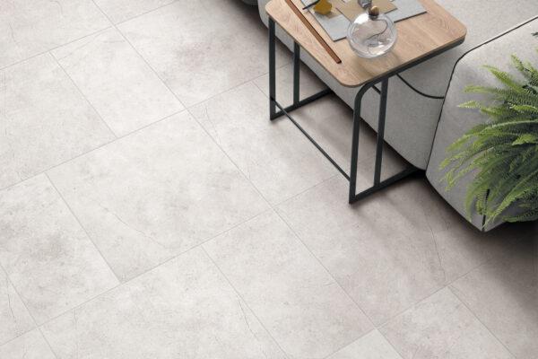 light gray tiles