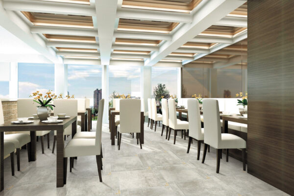 elegant looking restaurant