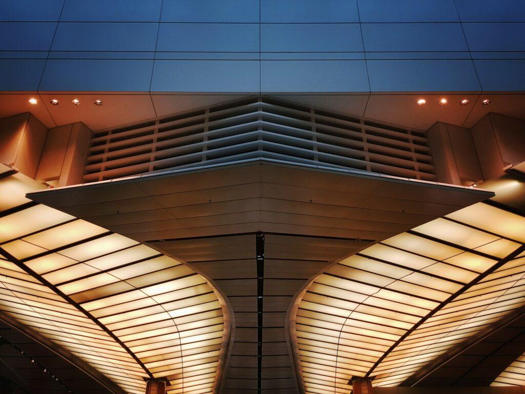 lights ceiling building